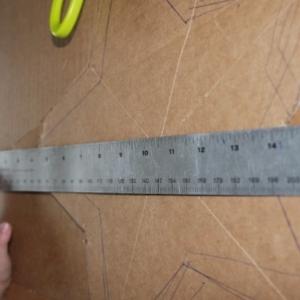zvezda3-300x300 Как сделать объёмную звезду из бумаги и картона своими руками. Шаблоны и схема для объемной звезды своими руками. Как сделать объемную звезду в технике оригами