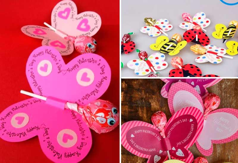 конфетки валентинки