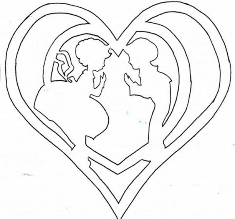 Год, открытка на день валентина шаблон