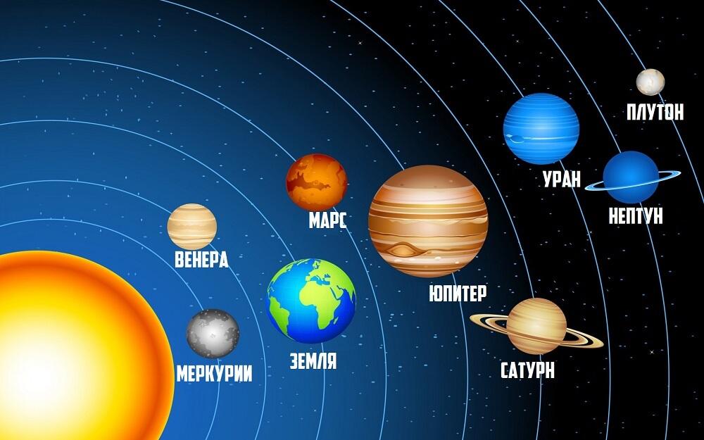 Аппликация на тему космос