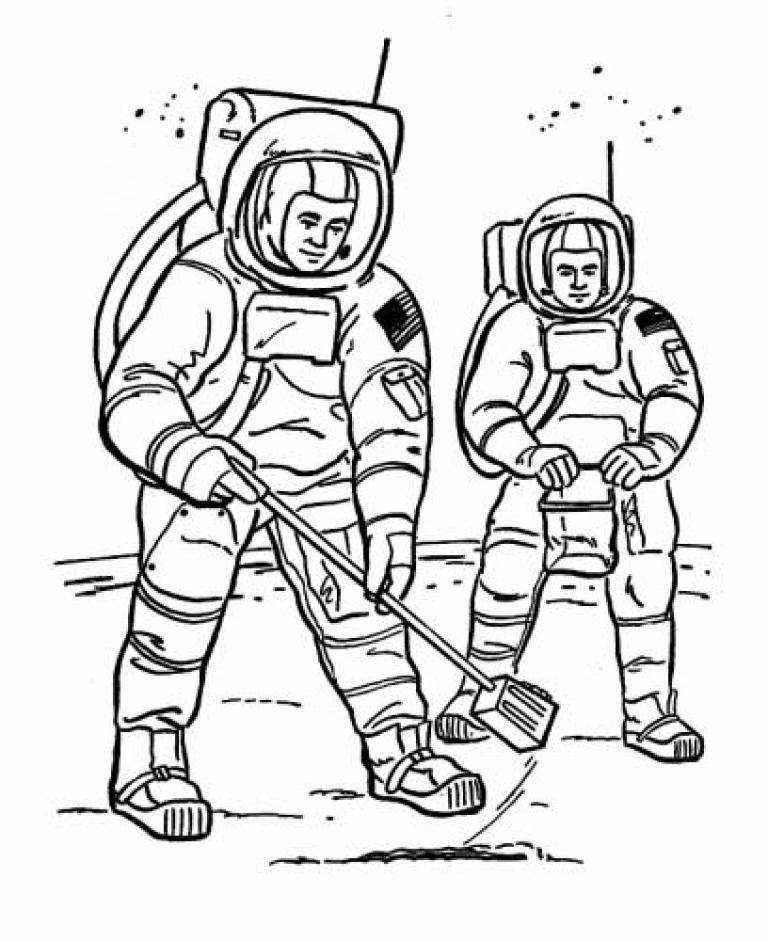 free astronaut printables - 670×820
