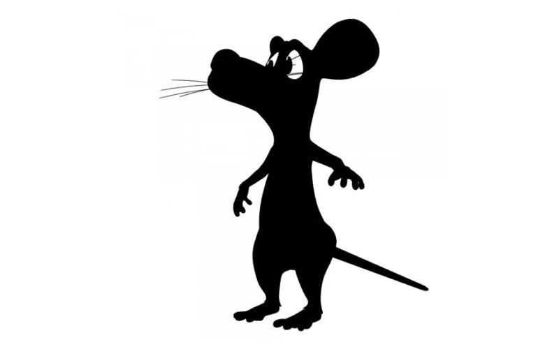 картинка крысы для вырезания логотип для