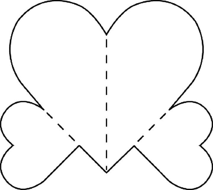 Шаблоны для открыток из бумаги распечатать