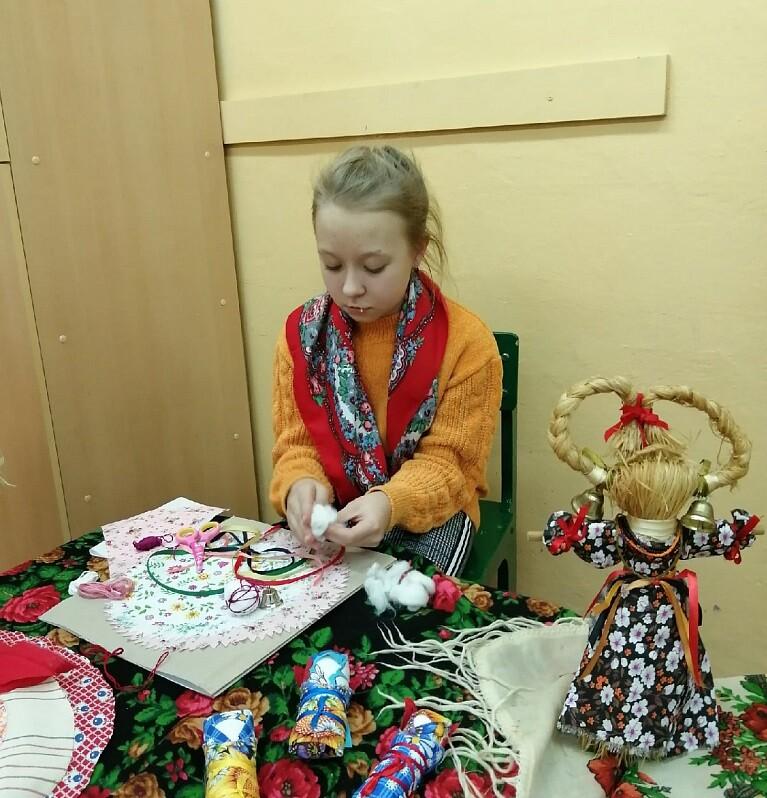 Народная кукла Купавка на Ивана Купала: мастер-класс для детей