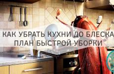 Как убрать кухню до блеска и поддерживать чистоту без усилий