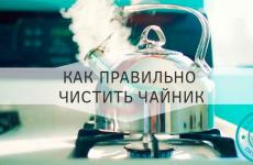 Как убрать уксусом накипь в чайнике и не испортить