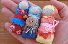 Кукла оберег своими руками для детей из ткани и лоскутов. Кукла зерновушка, пеленашка и другие мотанки