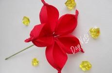 Самый быстрый и красивый цветок из крепбумаги