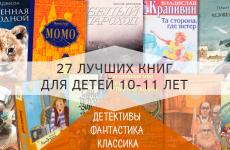 ТОП 27 книг для детей 10-12 лет