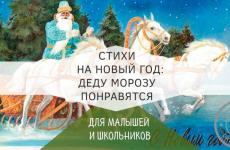 Стихи на новый год для малышей и школьников — Деду Морозу точно понравятся
