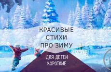Лучшие стихи про зиму для детей от 4 лет