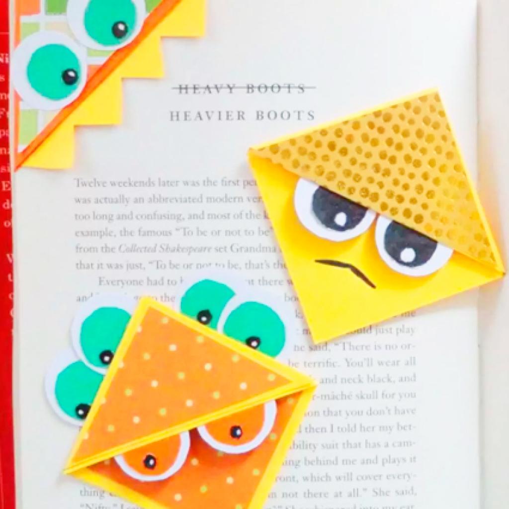 Оригами закладка-уголок для школьников и. - Сделай МИР ЯРЧЕ 21