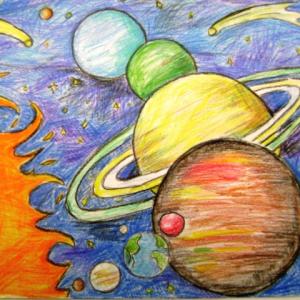 Рисунки карандашом пейзажей